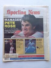 Sporting News Pete Rose Michael Jordan May 18, 1987 very sharp no creases