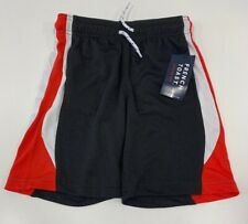 French Toast Active Mesh Shorts Black/Red Boys Size 5 New with tags
