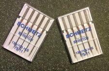 Size 11 Schmetz STRETCH Sewing Machine 10 Needles 130/705 H 15x1***