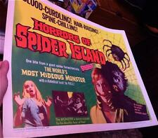 Horrors of Spider Island It's Hot In Paradise Giant Monster Sexy Original HS RLD