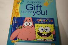 Toys R Us Spongebob Squarepants Gift Card No Value 5 count