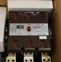 AEG Schütz contactor LS247 TK gleichstrombetätigt mit Stellungsanzeige 350A