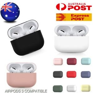 Apple AirPods PRO 3 Silicone Gel Case Shockproof Protective Skin Cover AirPod 3