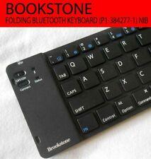 Bookstone Folding Keyboard Bluetooth P1-384277-1 NIB