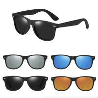 Polarized Sunglasses Men & Women Retro Classic Running Driving Glasses & Box