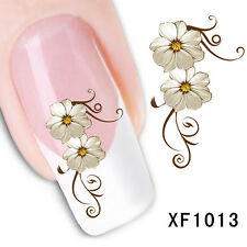 Nail Art Sticker Water Transfer Stickers Flower Decals Tips Decoration  BDAU