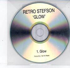(DS358) Retro Stefson, Glow - 2013 DJ CD