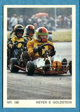 MOTO - Ed. Raf - Figurina/Sticker n. 186 - HEYER E GOLDSTEIN -Rec