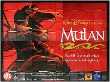MULAN Affiche Cinéma GEANTE / WIDE Movie Poster DISNEY