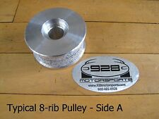 """ProCharger Premium 8-rib Pulley with Sur-Grip - 3.20"""" by 928 Motorsports"""