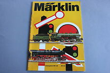 X238 MARKLIN Train catalogue Ho 1974 90 pages 29,7*21 cm Deutsch Katalog