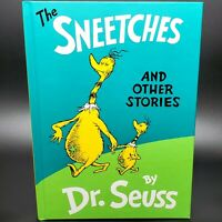 Classic Dr Seuss The Sneetches And Other Stories Hardcover Book 1961/1989 Publi.