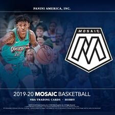 2019-20 Panini Mosaic Basketball Rookies,Parallels,SP,Serial Number
