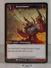 Arrowstorm  16/240  War of the Ancients Mint/NM Warcraft WoW