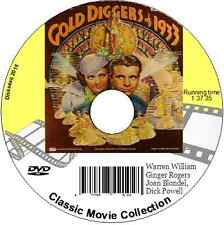 Gold Diggers of 1933 Ginger Rodgers Joan Blondell LeRoy Pre Code Musical DVD
