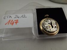 147 - Movimento wintex eta 2412 con dial running  sold for parts repair