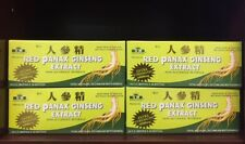 RED PANAX GINSENG EXTRACT 12 YEARS OLD ROOT 6000 MG PREMIUM 4 BOXES(120 Bottles)