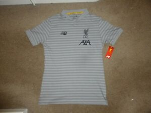 Liverpool FC Polo Shirt Adult Medium NEW Official LFC with Original Tags VGC