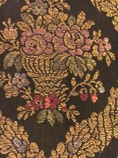 Exquisite Antique French Lyon Silk Lined Table Runner - 52� X 17�