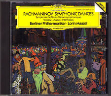 Lorin MAAZEL: RACHMANINOV Symphonic Dances Intermezzo Vocalise CD Rachmaninoff