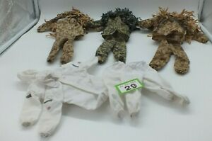 """HM Armed Forces Guile suits and Arctic Patrol for 10"""" Action Figure LOT GAA29"""
