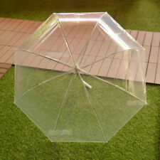 Clear Transparent Rain Umbrella Parasol PVC Dome Wedding Party Favor AU STOCK