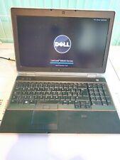 "Notebook DELL LATITUDE E6520   i7 2720QM   4GB   15.6"" FULL HD   250HD WEBCAM"