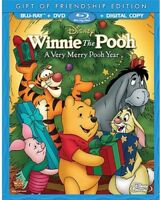 Winnie the Pooh: A Very Merry Pooh Year [New Blu-ray] With DVD, Full Frame, Sp