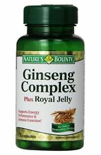 Natures Bounty Ginseng Royal Jelly Cap 75ct