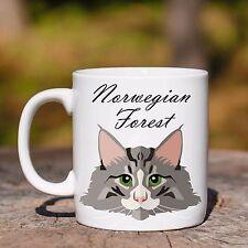 Tazza NORWEGIAN FOREST GATTO CAT MUG