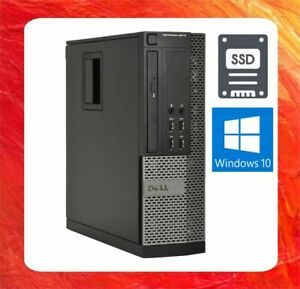 DELL PC OPTIPLEX 9020 INTEL CORE I5 4590 @ 3.3GHZ 8GB 480GB SSD DVDRW WIN10