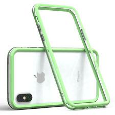 Bumper für Apple iPhone X / XS Case Wallet Schutz Hülle Cover Grün