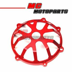 Red For Ducati Open CNC Clutch Cover Monster S4R 620 750 900 800 1000 CC01