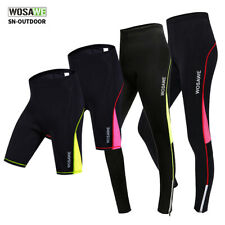 Women's Cycling Shorts GEL Padded Ladies Mountain Bike Pants Compression Trouser