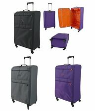 Extra Large Super Lightweight Lightest 4 Wheel Spinner Suitcase Cases Luggage XL
