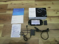 Sony PSP 3000 Console Piano Black Complete Japan m919