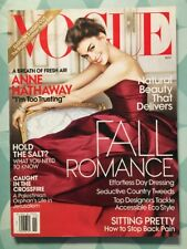 VOGUE US November 2010 Anne HATHAWAY Fall Romance Looks Mode Fashion