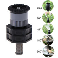 1/2''Female Misting Sprinkler Garden Lawn Water Spray Adjustable Rotary NozzBDA