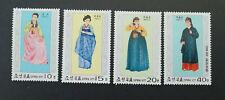 Korea 1977 Trachten/Strives MiNr1600-1603 **/MNH/Postfrisch