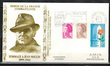 1983-Enveloppe Philatélique 1°Jour**J.Moulin-Obl.Amiens -Timbre Yt.1847/2180/223