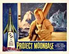 "Project Moonbase  Movie Poster Replica 11x14"" Photo Print"