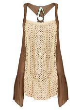 LADIES DRESS TOP BEACH WOMEN'S PARTY MAXI MINI NEW SUMMER STYLISH CASUAL SIZE