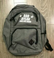 Bob Dylan And His Band Backpack By Leeds Grey Used