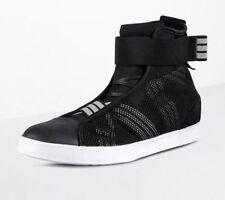 Yohji Yamamoto Y-3 Adidas Loop Court High Sneakers 5UK/38IT