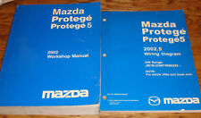2002 Mazda Protege / Protege5 Shop Service Manual + 2002.5 Wiring Diagram Set