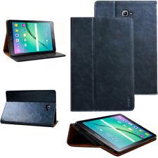 """Custodia in pelle per Samsung Tab a 10.1"""" con S-Pen Tablet Custodia Cover Case Blu"""