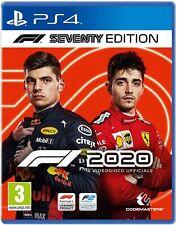 F1 2020 SEVENTY EDITION - DAY ONE PS4 EU NUOVO SIGILLATO ITA FORMULA 1 PREORDINE