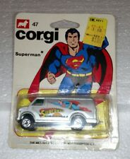 CORGI #47 SUPERMAN VAN SILVER NEW ON CARD