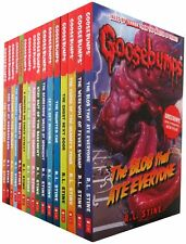The Classic Goosebumps Series R L Stine 10 Books Set Collection