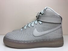 Nike Air Force 1 Hi FW QS Womens New York Shoes UK 3 EUR 36 Grey 704010 001